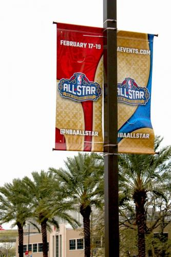 LIGHT POLE BANNERS ALL STAR