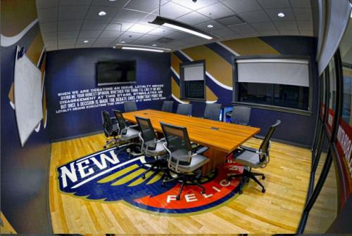 Pelicans Conference Room After